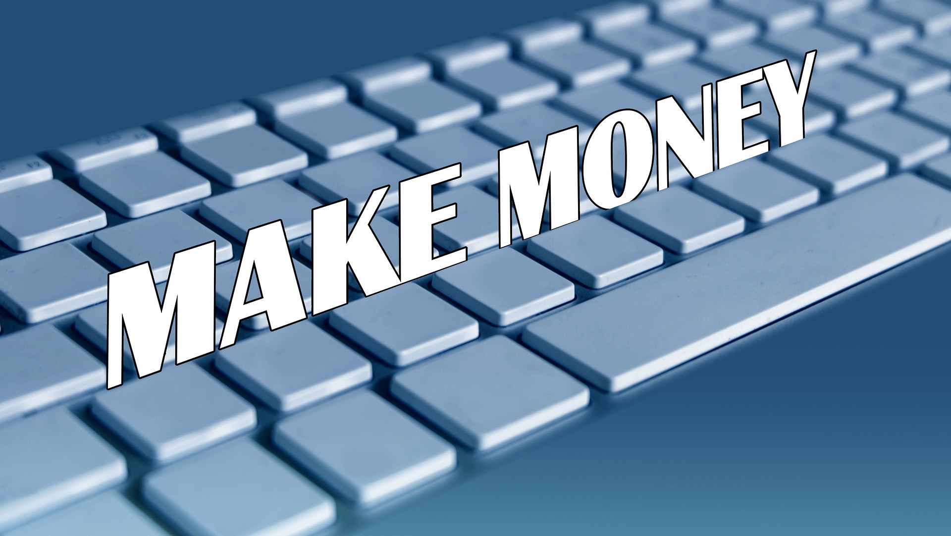 Make Money Computer Keyboard Image